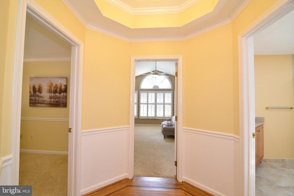 Entrance to Master Bedroom Suite - 1700 BESLEY RD, VIENNA