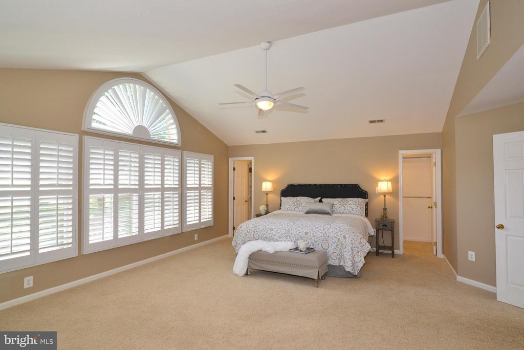 Master Bedroom is truly amazing! - 1700 BESLEY RD, VIENNA