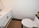 Powder room - 6731 ROCK BROOK DR, CLIFTON