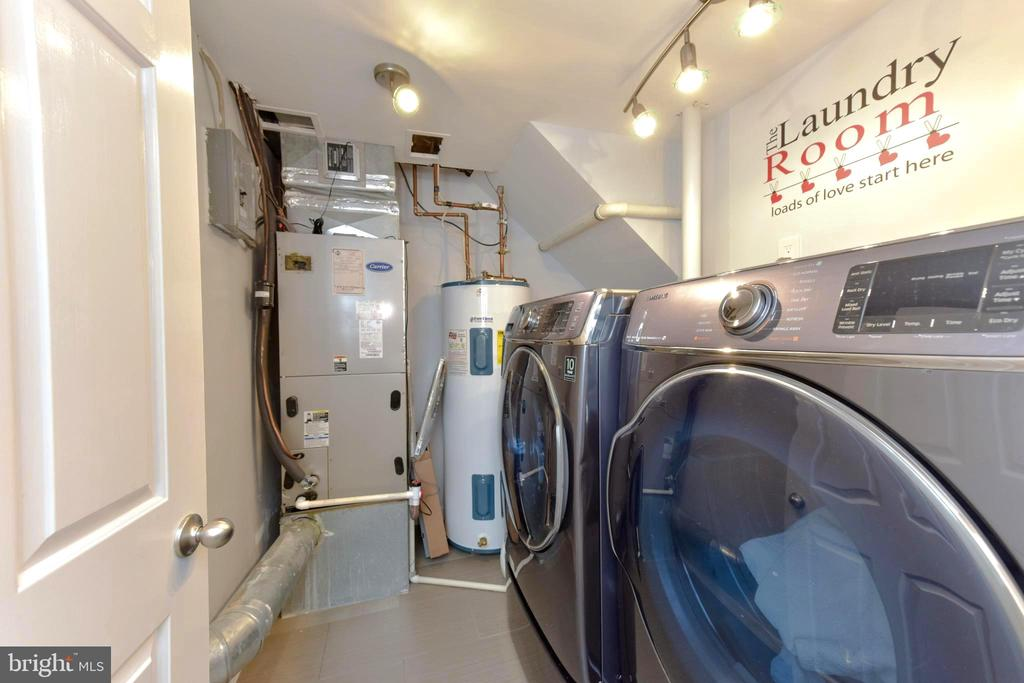 One of two laundry centers. - 1904 BELLE HAVEN RD, ALEXANDRIA