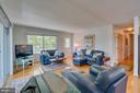 Living Room has lots of natural light - 102 RAMSAY RD, LOCUST GROVE