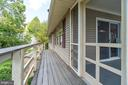 Deck to screen porch - 102 RAMSAY RD, LOCUST GROVE