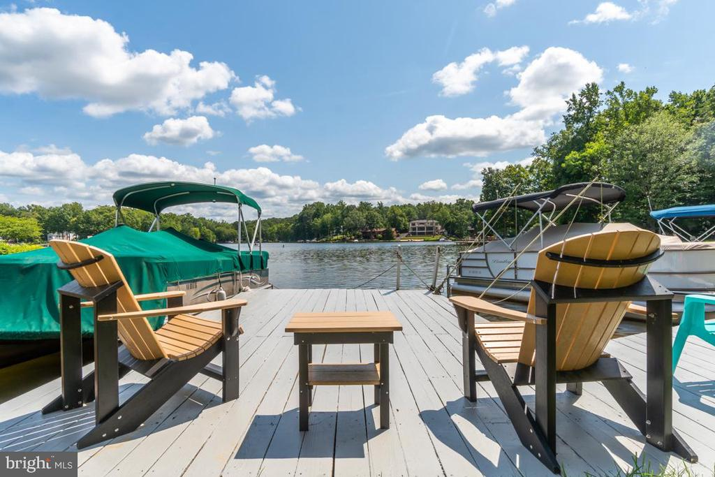 Enjoy the view from your dock - 102 RAMSAY RD, LOCUST GROVE