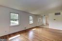Large Living Room - 11901 ENID DR, ROCKVILLE