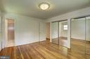 Master Bedroom, Double Closets - 11901 ENID DR, ROCKVILLE