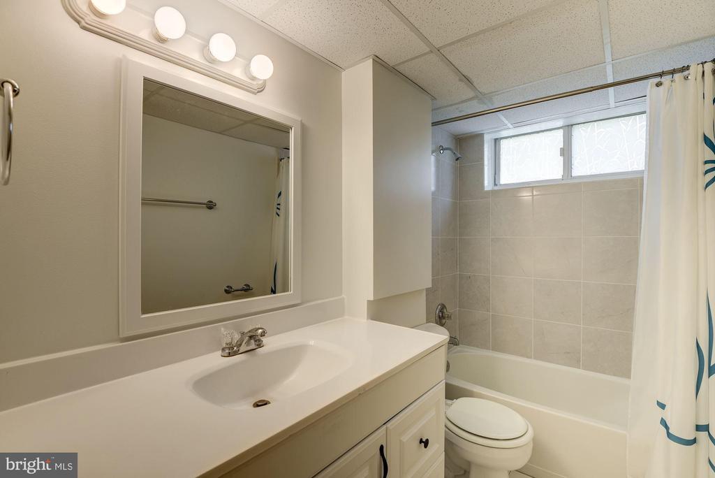 Lower Level Full Bath - 11901 ENID DR, ROCKVILLE