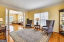 Nice flow from Living to Dining Room - 17262 NORTHWOODS PL, HAMILTON