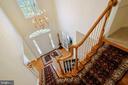 2 story foyer - 17262 NORTHWOODS PL, HAMILTON
