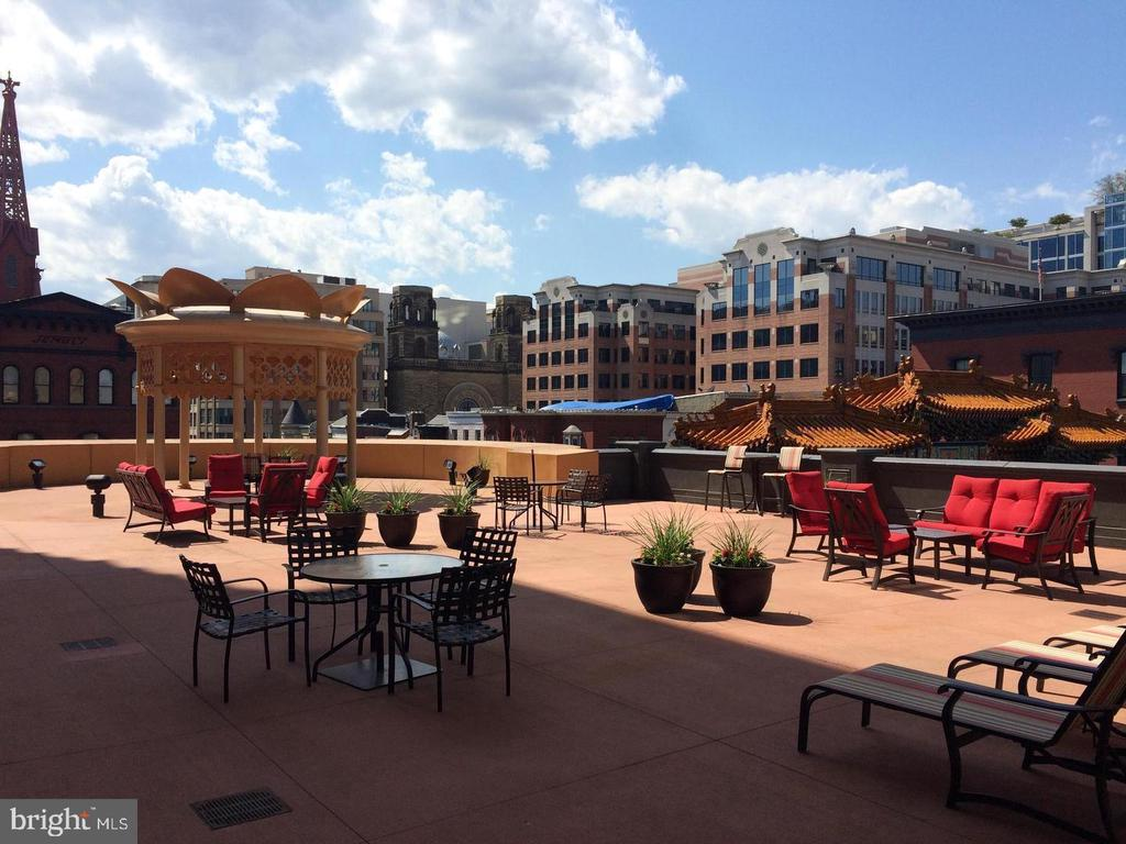 Rooftop Terrace - 777 7TH ST NW #724, WASHINGTON