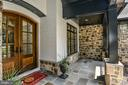 Natural Stone, Brick,  & Slate in Front Veranda - 7004 ARBOR LN, MCLEAN