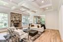 Family Room off Breakfast & Kitchen w/ Hardwoods - 7004 ARBOR LN, MCLEAN