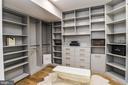 Custom Built-ins in Closets w/ Hidden Door - 7004 ARBOR LN, MCLEAN