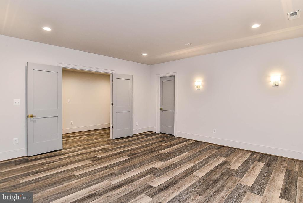 Double Doors to Theatre or Exercise Room - 7004 ARBOR LN, MCLEAN