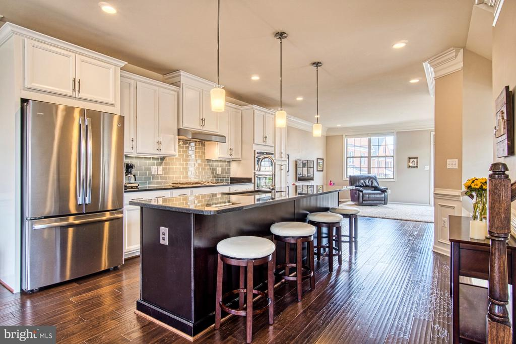 Stunning Gourmet Kitchen - 22478 CAMBRIDGEPORT SQ, ASHBURN