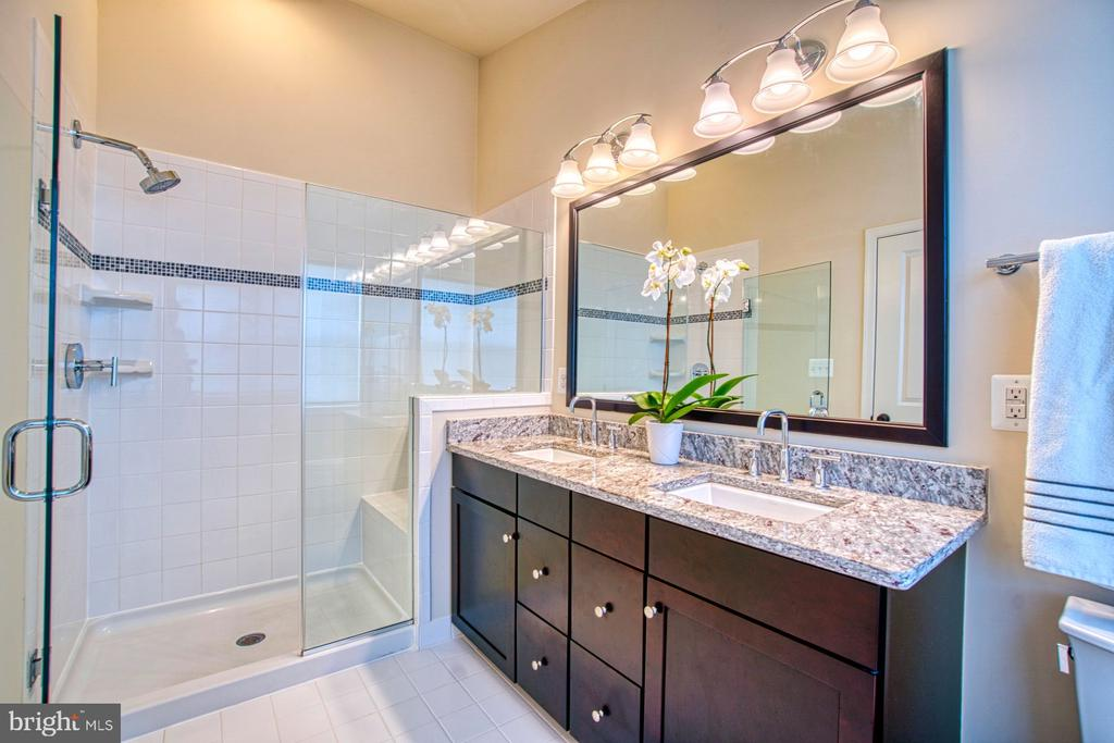 Gorgeous Master Bathroom with Oversized Shower - 22478 CAMBRIDGEPORT SQ, ASHBURN