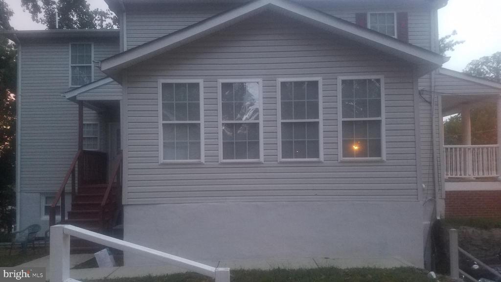 Sun Room Exterior View - 4328 ALABAMA AVE SE, WASHINGTON