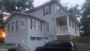 Side Front View  showing Garage - 4328 ALABAMA AVE SE, WASHINGTON