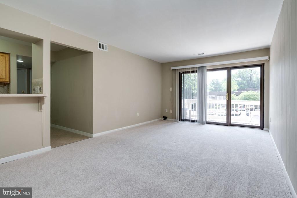 Living Room : Very Bright Sun Light - 5804 ROYAL RIDGE DR #H, SPRINGFIELD