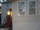 Back Exterior Entrance - 4328 ALABAMA AVE SE, WASHINGTON