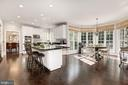 WOW look @ this updated entertainers dream kitchen - 11691 CARIS GLENNE DR, HERNDON