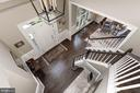 2-story foyer as seen from above - 11691 CARIS GLENNE DR, HERNDON