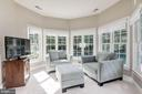 Relaxing sitting area  w/views of the private yard - 11691 CARIS GLENNE DR, HERNDON