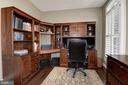 Additional view of the main level office - 11691 CARIS GLENNE DR, HERNDON