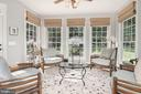 Perfect sunroom for morning coffee & evening wine! - 11691 CARIS GLENNE DR, HERNDON