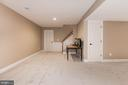 Very spacious rec room - 11691 CARIS GLENNE DR, HERNDON