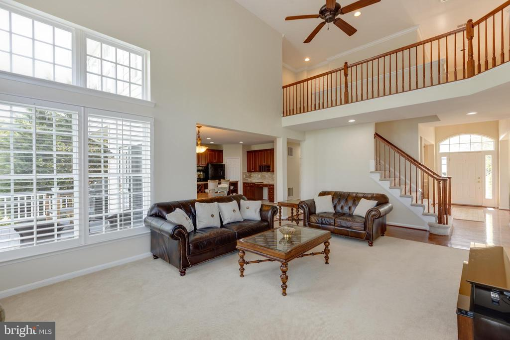 Family room - 42022 GLASS MOUNTAIN PL, ALDIE