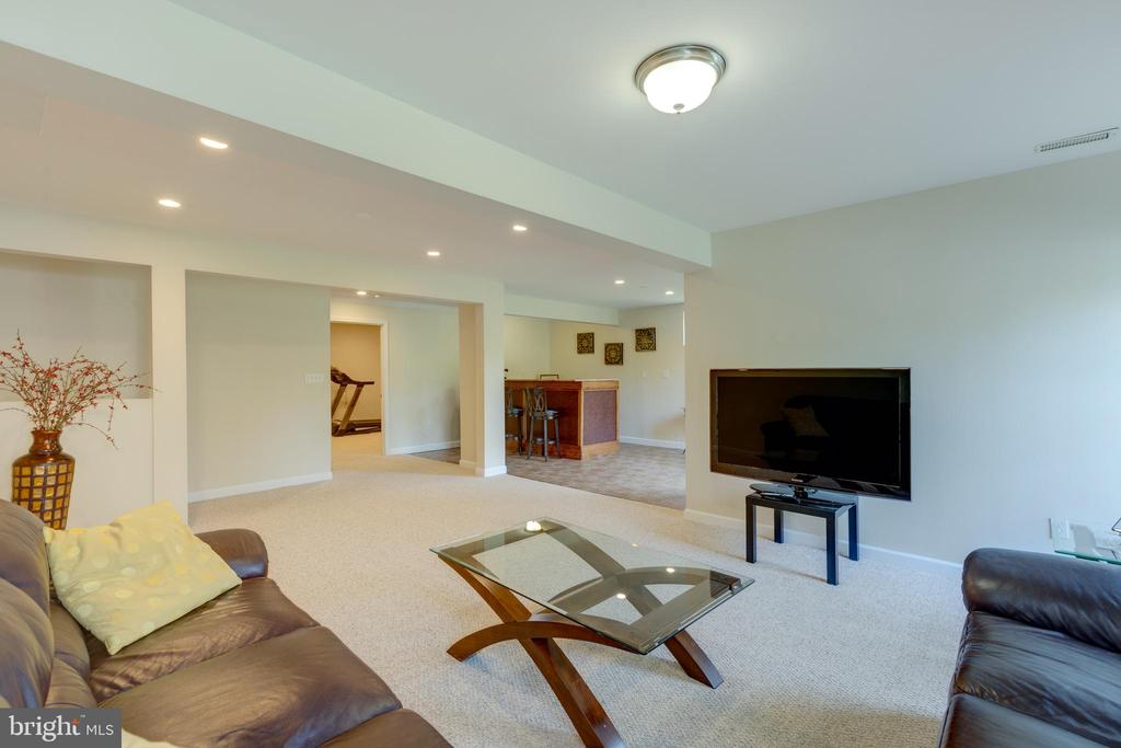 Fully finished basement - 42022 GLASS MOUNTAIN PL, ALDIE
