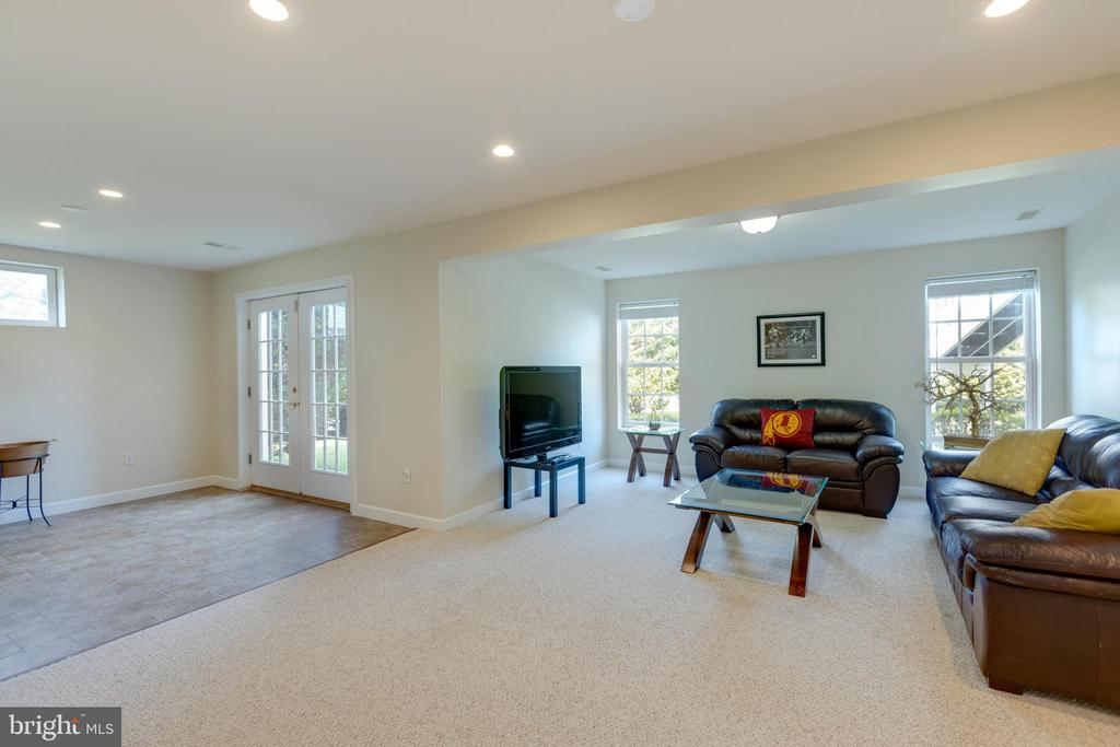 Basement with full windows on walkout level - 42022 GLASS MOUNTAIN PL, ALDIE
