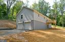 Garage Elevation - 126 WHITE POPLAR, HARPERS FERRY