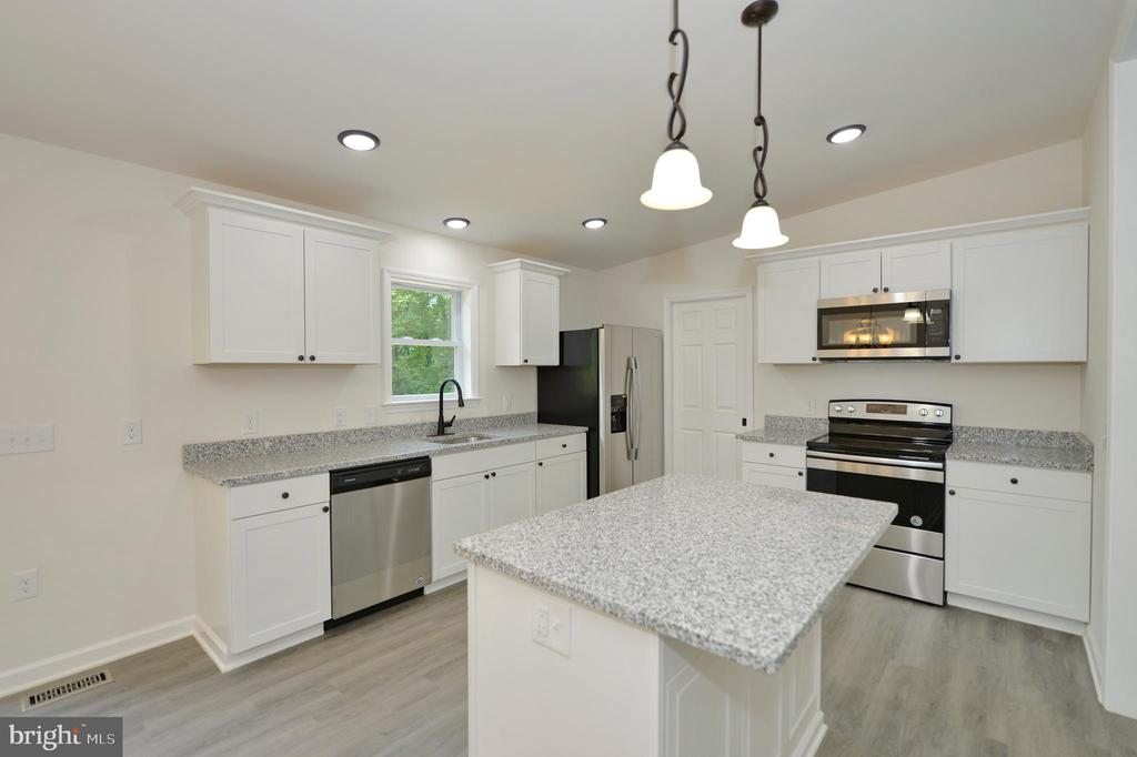 Stunning Kitchen with Stainless Steel Appliances - 126 WHITE POPLAR, HARPERS FERRY