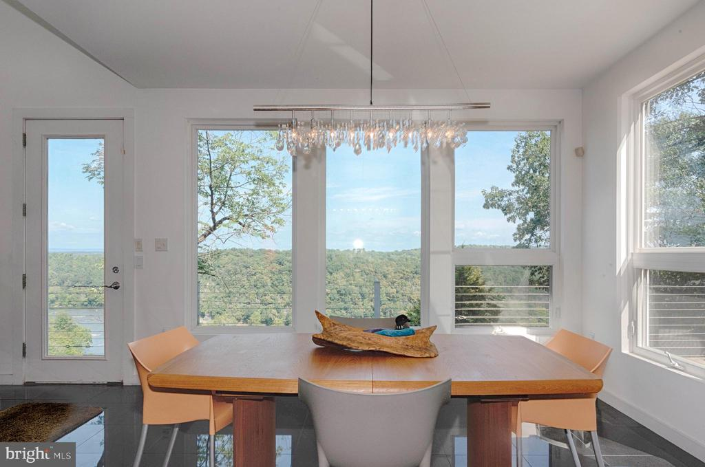 View from dining area - 74 WOODCUTTERS LN, HARPERS FERRY