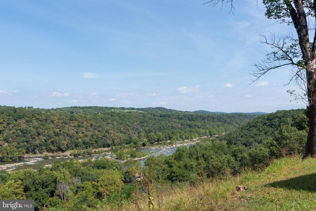 See up one side of the river and down the other. - 74 WOODCUTTERS LN, HARPERS FERRY