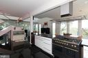 Open floorplan with view from kitchen - 74 WOODCUTTERS LN, HARPERS FERRY