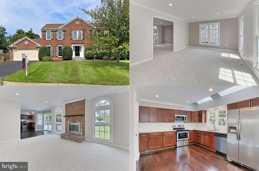 Fabulous 4 BR home with huge yard! - 501 ASPEN DR, HERNDON