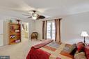 Master suite - 144 AQUA LN, COLONIAL BEACH