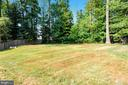 Large Fenced Yard beyond pool - 6008 NASSAU DR, SPRINGFIELD
