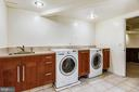 Huge Laundry with Drying Racks and Folding Area - 6008 NASSAU DR, SPRINGFIELD