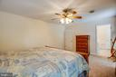 Master bedroom - 12504 SICKLES LN, SPOTSYLVANIA