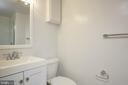 Full Bath Lower Level - 129 N OAKLAND ST, ARLINGTON