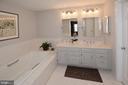 2nd Master Bath - 3624 WINFIELD LN NW, WASHINGTON