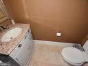 First floor Powder Room - 3624 WINFIELD LN NW, WASHINGTON