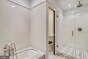 Master Bathroom - 2719 13TH ST NW #2, WASHINGTON