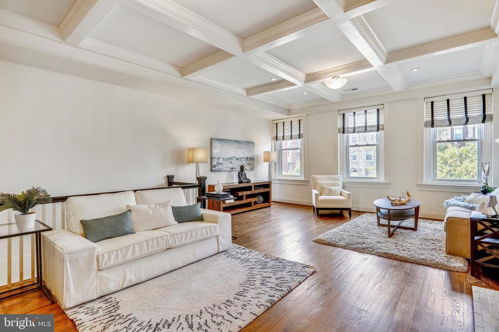 Living Room - 2719 13TH ST NW #2, WASHINGTON