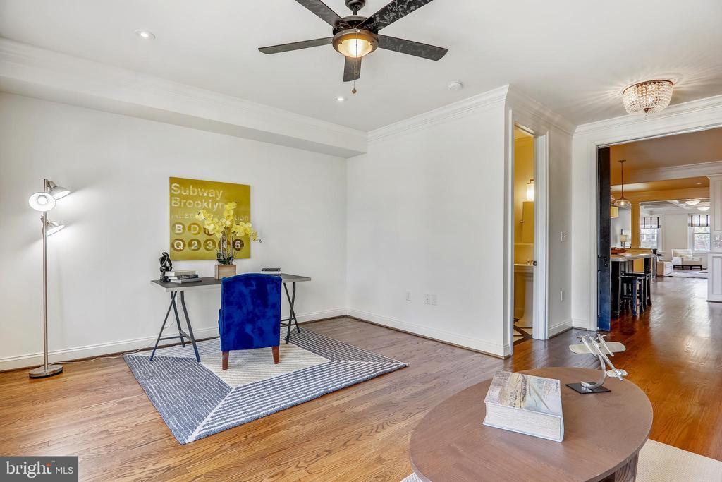 Bedroom (Main Level) - 2719 13TH ST NW #2, WASHINGTON