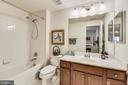 Full bath inside 5th basement bedroom - 41669 APPLEYARD PL, ASHBURN