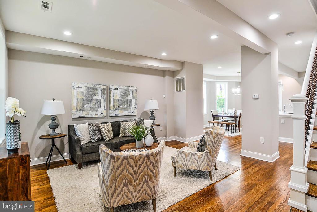 Living Room 5 - 3600 18TH ST NE, WASHINGTON